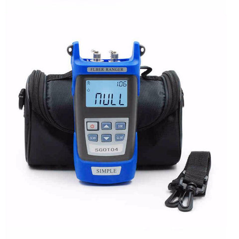 Handheld OTDR 60KM Fiber find fault tester 1310/1550nm SGOT04 Optical time domain reflectometer with VFL FC/SC Connector BY DHL