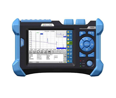 Image of G-LINK TR600 SM 32db/30db Orientek Touch Screen 1310/1550nm OTDR with 3KM VFL function Visual Fault Location Function