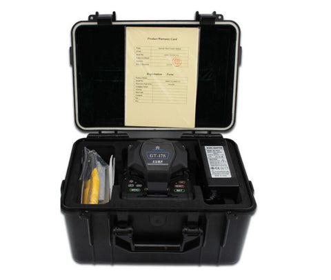 Image of Fiber Fusion splicing machine GT-17S Fiber Optic Fusion Splicer GT-17S FTTH Optical Fiber Fusion Splicer English menu BY DHL