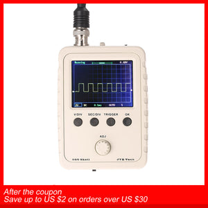 Digital Oscilloscope DIY Kit Parts with Case