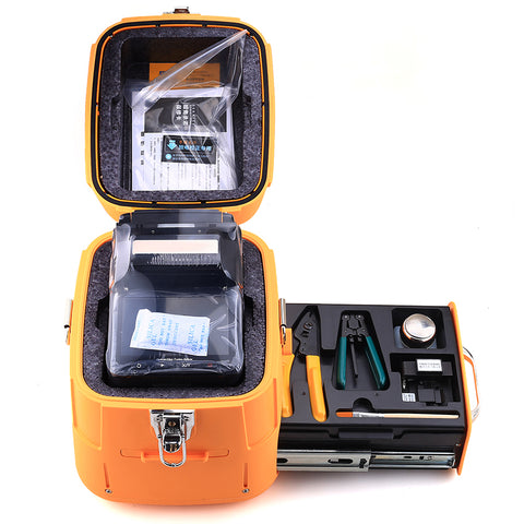 AI-7 SM&MM Automatic FTTH Optical Fiber Fusion Splicer Fiber Optic Splicing Machine Optical Fiber AI-7 Fusion Splicer KELUSHI
