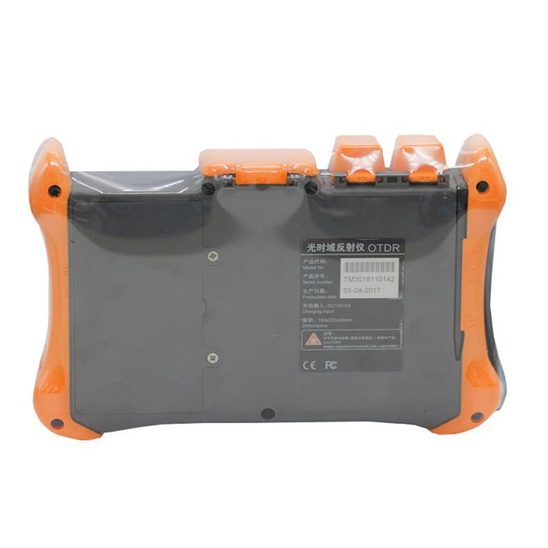 Handheld OTDR TMO-300-SM-B OTDR 1310/1550nm 30/28dB,Integrated VFL, Touch Screen Optical Time Domain Reflectometer VFL