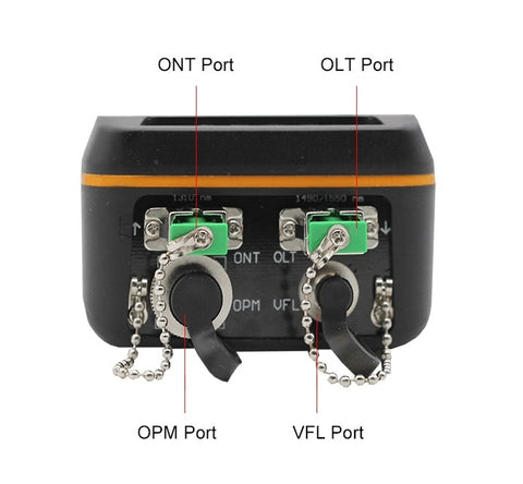 Image of PON Optical Power Meter With 1mw VFL And Optical Power Meter for EPON GPON xPON OLT-ONU 1310/1490/1550nm TM70B-OV1