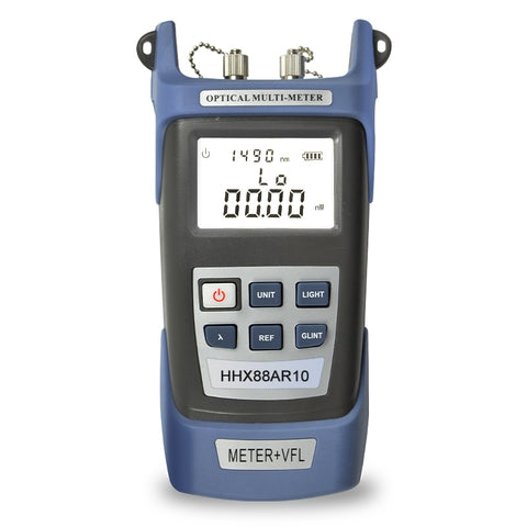 Image of Portable Optical Power Meter, 10mw 15km Red Laser Visual Fault Locator Tester Tool