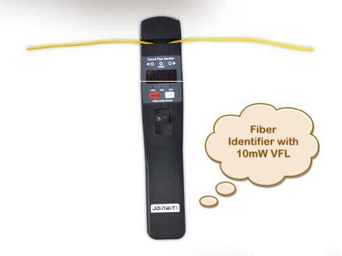 Free Shipping JW3306D Fiber Optic Identifier Live Fiber Optical Identifier with Built in 10mw Visual Fault Locator
