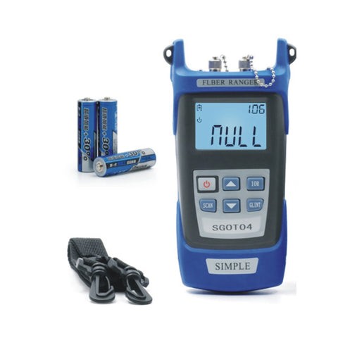 Image of Optical Fiber Ranger OTDR Principle Test Meter