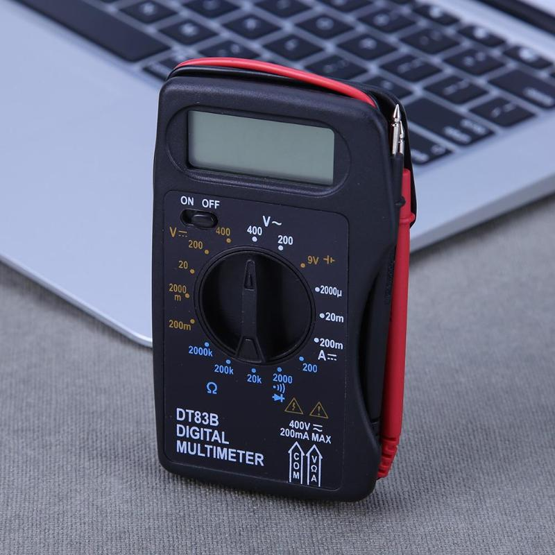 DT83B Digital Multimeter Mini Pocket Voltmeter