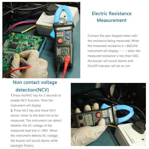 Image of Smart Mini Digital AC Clamp Meter