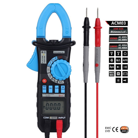 Image of ACM03 4000 Counts Digital Clamp Meter