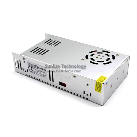 Image of DC Power Supply 24V 25A 600w Led Driver Transformer 110V 220V AC to DC24V