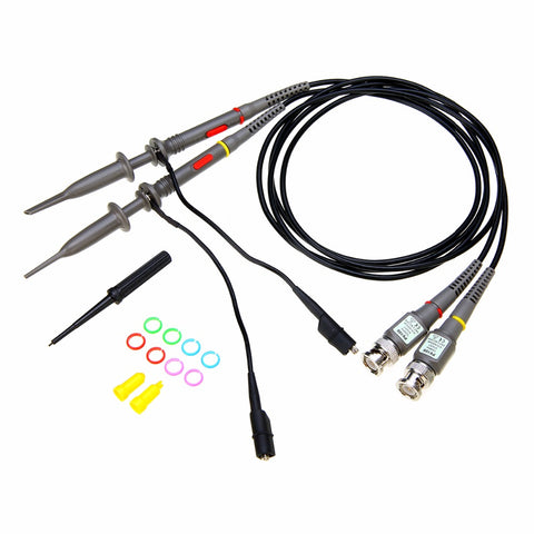 Image of 2pcs P6100 BNC Oscilloscope Probe kit 100MHz