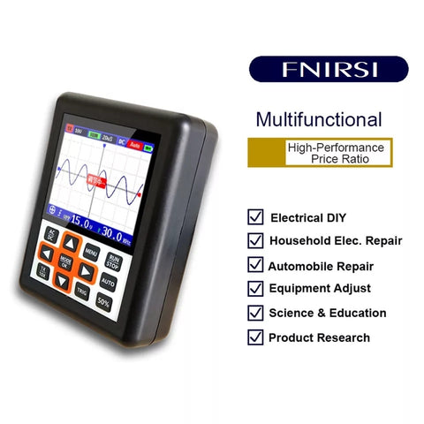 Image of DSO Handheld mini portable digital oscilloscope 30M bandwidth 200Mbps sampling rate