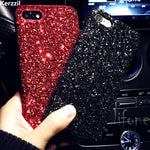Luxury Bling Glitter Shining Flash Powder Cases For All iPhones