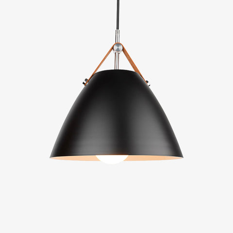 Plafonnier design LED rectangle et bords arrondis noir et blanc Bwart