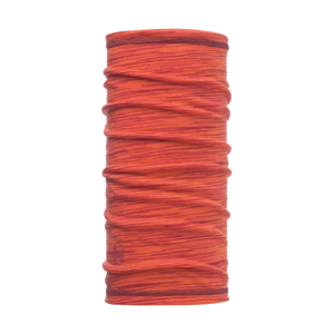 3/4 Merino Wool Buff Coral Pink Multi