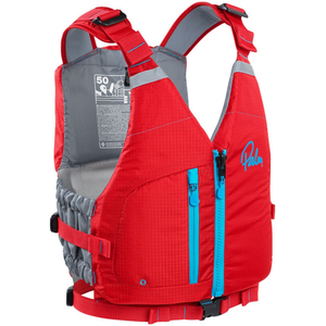 Men's Meander High Back PFD Red - Call of the Wild