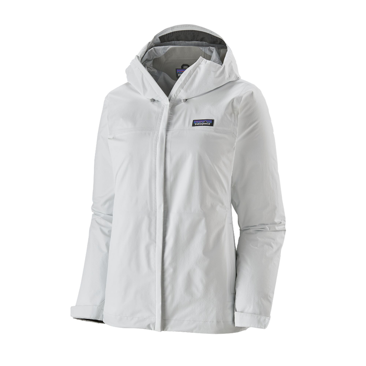 Women's Torrentshell 3L Jacket Birch White - booley Galway