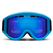 Aero Matt Blue With Brown Revo Blue Mirror Lens