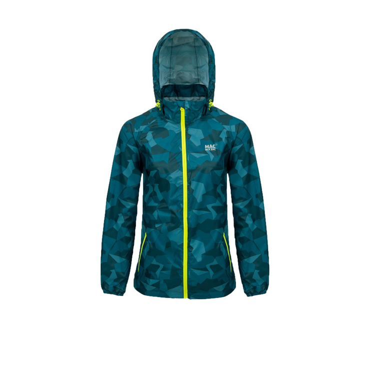 Adult Edition Jacket Teal Camo - booley