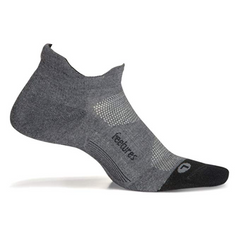 Elite Max Cushion No Show Tab Grey