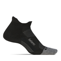 Elite Max Cushion No Show Tab Black