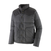 Men's Bivy Down Jacket Forge Grey - Booley Galway
