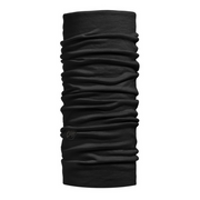 Lightweight Merino Wool Buff Solid Black - Call of the Wild Galway