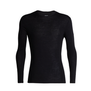 Men's 175 Everyday L/S Crewe Black - booley Galway