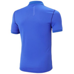 Men's HH Lifa Active Solen SS Polo Royal Blue - Call of the Wild Galway