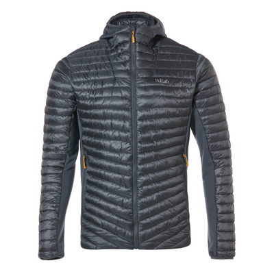 Men's Cirrus Flex Hoody Steel / Steel / Steel - Call of the Wild