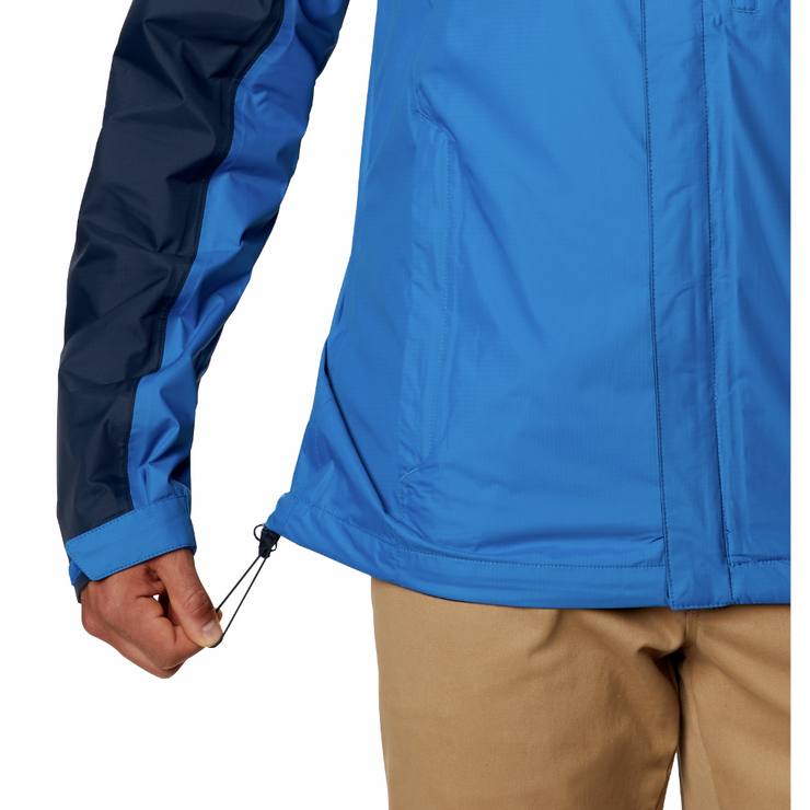 Men's Pouring Adventure II Jacket Bright Indigo / Collegiate Navy - booley