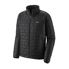 Men's Nano Puff Jacket Black - Call of the Wild Galway