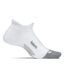 Merino 10 Light Cushion No Show Tab White