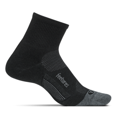 Merino 10 Light Cushion Quarter Charcoal