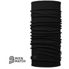 Midweight Merino Wool Buff Black