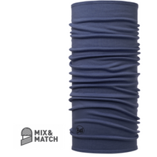 Midweight Merino Wool Buff Estate Blue