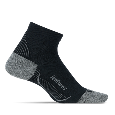 Elite Light Cushion Plantar Fasciitis Relief Quarter Black