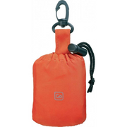 Poncho & Pouch Orange - booley
