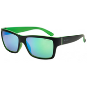 Riser Matt Black With Green With Green Mirror Lens
