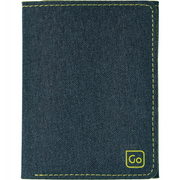The Micro Wallet RFiD Petrol Blue - booley