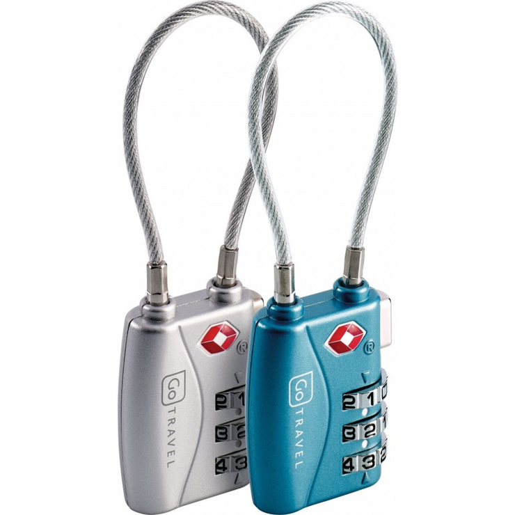 Twin TSA Combi Cable Lock - booley