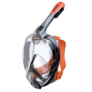 Unica Mask Transparent / Black / Orange