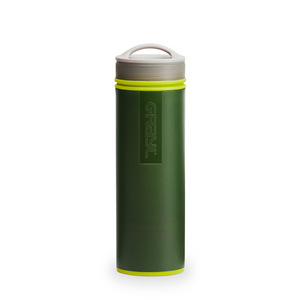 Ultralight Water Purifier Bottle Green