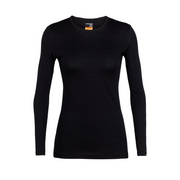 Women's 200 Oasis L/S Crewe Black - Call of the Wild Galway
