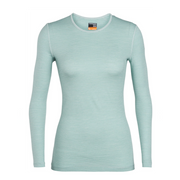 Women's 200 Oasis L/S Crewe Dew / Arctic Teal / Stripe - Call of the Wild Galway