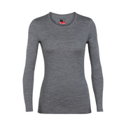 Women's 260 Tech Top L/S Crewe Gritstone Heather - booley Galway