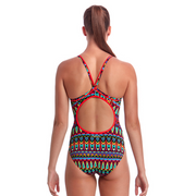 Women's Diamond Back One Piece Fire Tribe - Call of the Wild Galway
