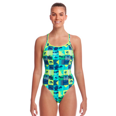 Women's Diamond Back One Piece Pop Tropo - Call of the Wild Galway