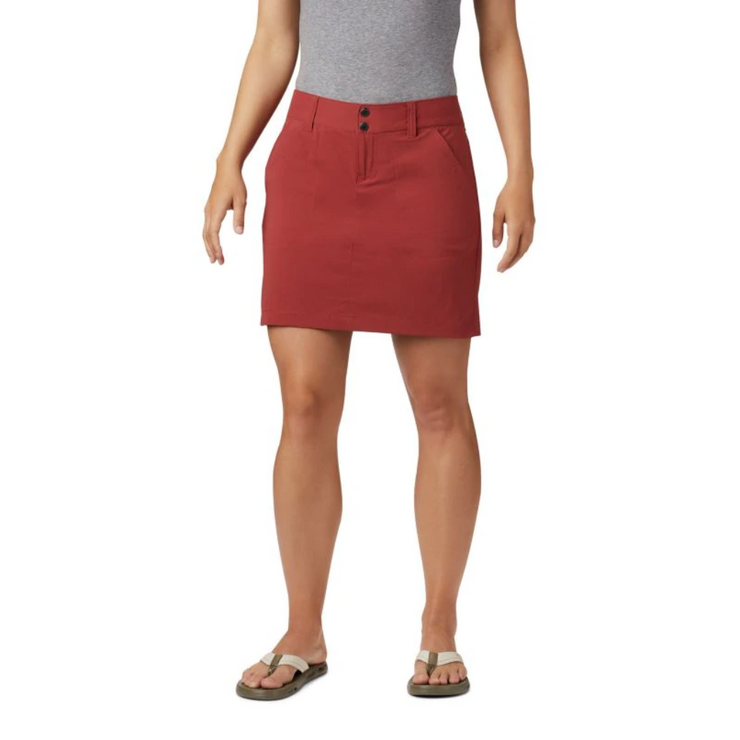 Women's Saturday Trail Skort Dusty Crimson - booley