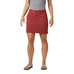 Women's Saturday Trail Skort Dusty Crimson - Call of the Wild